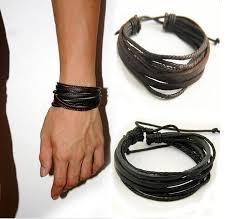 ladies leather strap bracelet images 2017 punk manual strap bracelet bracelets bracelets for women jpg