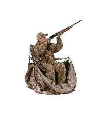 tent chair blind ameristep chair blind camo deer hunters ground hub tent