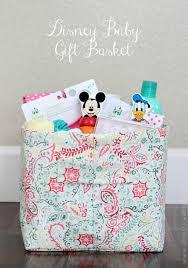 Baby Shower Baskets Diy Disney Baby Gift Basket Gluesticks