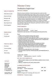 Example Housekeeping Resume by Sample Resume For Hotel Housekeeping Supervisor Download