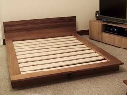 Platform Bed Uk Iroko Platform Bed Bespoke Handmade Bedroom Furniture Brighton