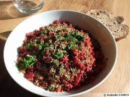 comment cuisiner la betterave crue salade express de betterave et carotte au gomasio recette de cuisine
