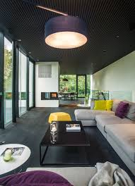 contemporary home design which apply a trendy and serenity impression