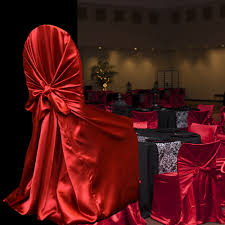 cheap universal chair covers buy universal satin chair covers and get free shipping on