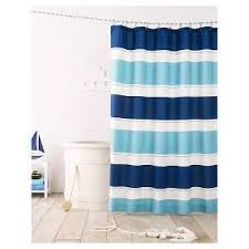 Rugby Stripe Curtains Cool Rugby Stripe Shower Curtain Blue Lake Pillowfort Target