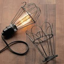 wire light bulb cage industrial wire bulb cage shades of light