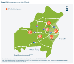 Missouri Zip Code Map Report Racial Health Disparities Affect Everyone In St Louis