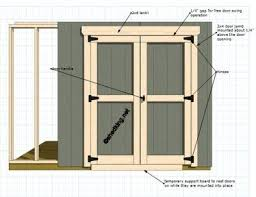 How To Make A Small Outdoor Shed by Best 25 Shed Doors Ideas On Pinterest Pallet Door Making Barn