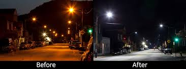 ge evolve led roadway lighting pennsylvania town finds 40 000 savings and cash flow positive