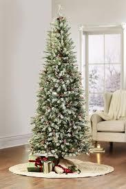 slim christmas trees pre lit christmas tree clearance christmas2017