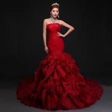 online get cheap red wedding dress designs aliexpress pertaining