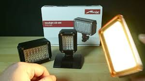 best video lights for youtube metz mecalight review youtube