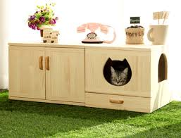 Kitty Litter Bench Incredible Cat Litter Box Furniture By Catwheel Styletails