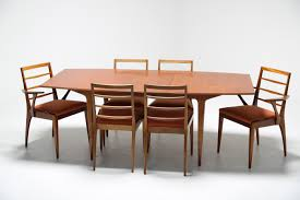 a h mcintosh teak dining suite mid century furniture the