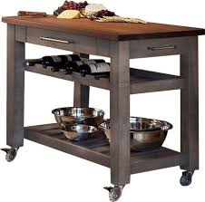 mobile kitchen islands judie mobile kitchen island with solid walnut top reviews joss