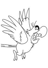 alladin coloring pages aladdin coloring pages iago coloringstar