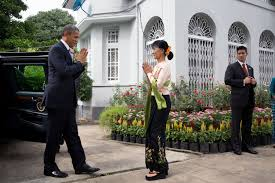 president obama promises support for the people of burma