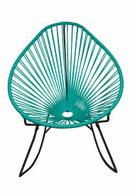 Outdoor Vinyl Rocking Chairs Acapulco Rocking Chair Designeros
