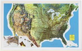 map usa buy buy usa relief map rand mcnally flagline