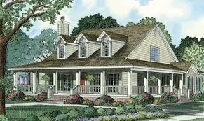 18 best country home designs with wrap around porch house plans