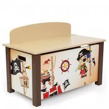 chambre enfant pirate coffre à jouets en bois meuble chambre enfant motif pirate