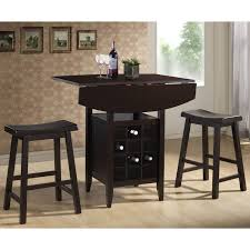 amazon com baxton studio 3 piece reynolds black wood modern drop