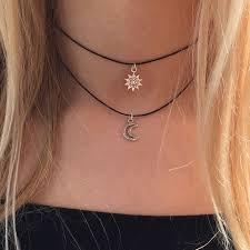 black double choker necklace images Best 25 layered choker necklace ideas layered jpg