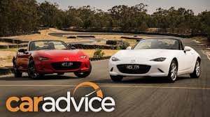 how are mazda cars rated 2016 mazda mx 5 1 5l v 2 0l track comparison review youtube
