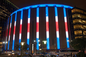 commercial building outside lighting madison square garden sports new led lighting the lighting practice