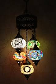 Mosaic Chandelier Turkish Turkish Mosaic Chandeliers Light Decor Handmade U2013 Snazzy Bazaar