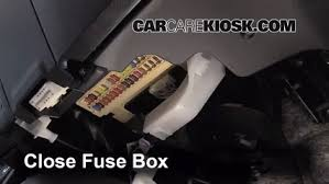 toyota corolla fuse box location interior fuse box location 2014 2016 toyota corolla 2014 toyota