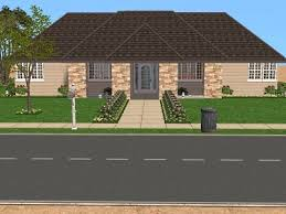 sims 2 floor plans mod the sims attractive prairie bungalow based on real floor plan