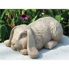 rabbits garden statues hayneedle