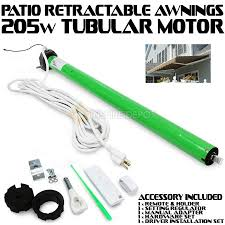 Retractable Awning Parts Patio Ac Tubular Motor For Retractable Awning With Built In