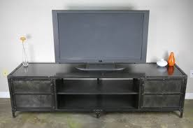 Media Console With Hutch Buy A Handmade Vintage Industrial Media Console Tv Stand