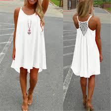 buy zanzea summer women chiffon short dress strap sleeveless