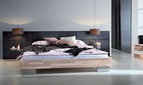 hasena woodline reca opio 3m solid wood u0026 real leather bed