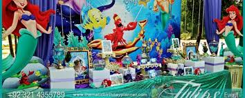 girl party themes mermaid party theme decoration ideas in pakistan