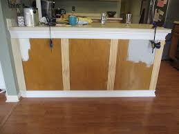 cabinet adding trim to kitchen island remodelando la casa adding
