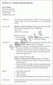 What Is A Scannable Resume Make A Resume Resume Cv