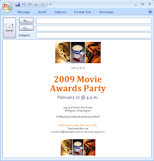 download free printable invitations of e mail message movie
