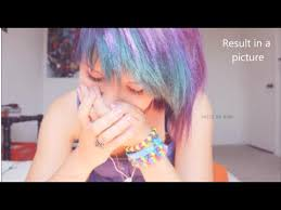 how to put red hair in on the dide with 27 pieceyoutube what happens if you dye purple and turquoise over red hair read