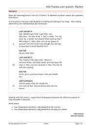 ks4 macbeth teachit english