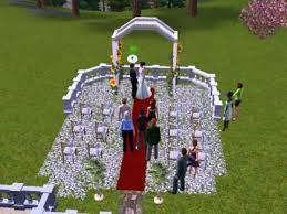 wedding arches on sims 3 the sims 3 wedding party