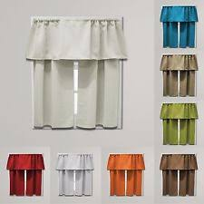 Contemporary Blackout Curtains Contemporary Cafe Tier Curtains Ebay