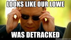 Horatio Meme Generator - looks like our lowe was detracked horatio puts on sunglasses