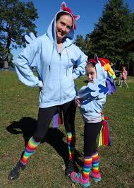 Rainbow Dash Halloween Costume Diy Pony Costume Maskerix