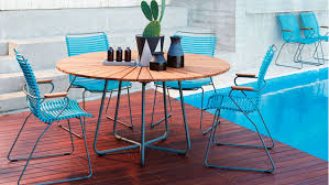 vivid 7 piece round outdoor dining package domayne