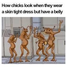 Skinny Girl Meme - skin tight dress with a belly black twitter know your meme