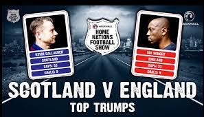 England Memes - scotland v england kevin gallacher v ian wright in football top